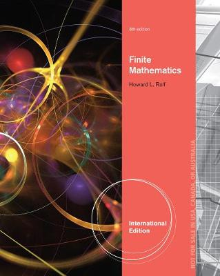 Finite Mathematics, International Edition (Paperback)