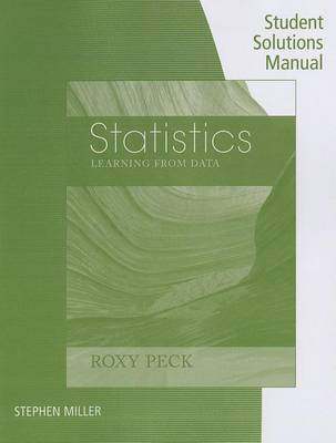 Statistics, Student Solutions Manual: Learning from Data (Paperback)