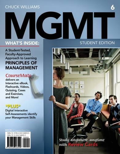 MGMT 6 (with Career Transitions Printed Access Card)