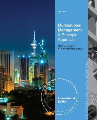Multinational Management, International Edition (Paperback)