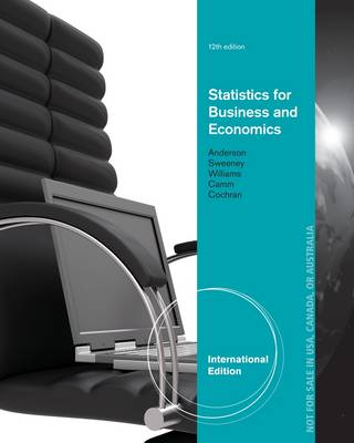 Statistics for Business and Economics (Paperback)