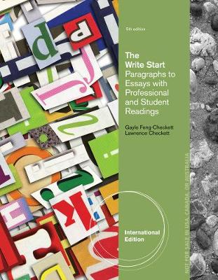 The Write Start, Paragraph to Essay: With Student and Professional Readings, International Edition (Paperback)
