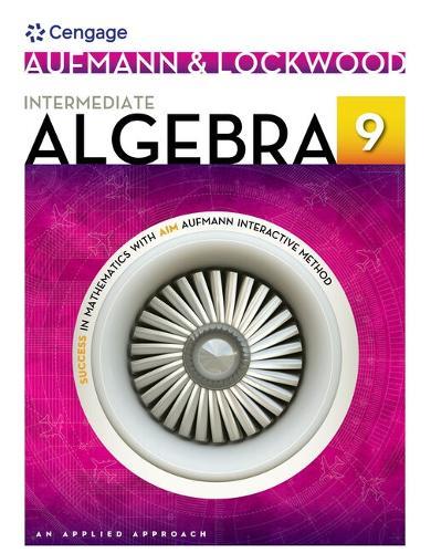 Intermediate Algebra Student Solutions Manual: An Applied Approach (Paperback)