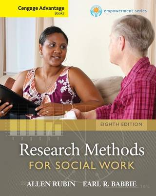 Research Methods for Social Work - Cengage Advantage Books
