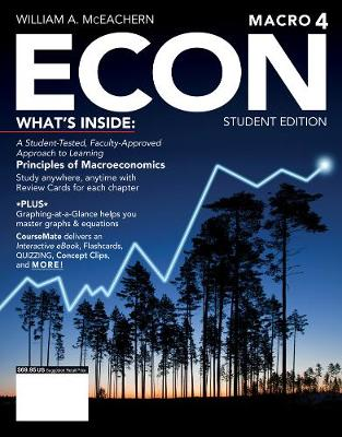 ECON: MACRO4 (with CourseMate, 1 term (6 months) Printed Access Card)