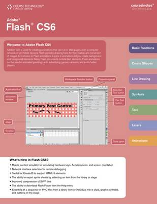 Adobe Flash CS6 Coursenotes