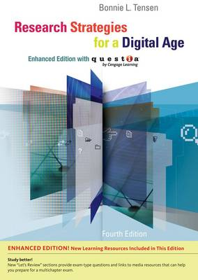 Research Strategies for a Digital Age with Questia (Paperback)