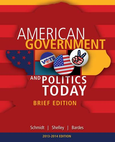 Cengage Advantage Books: American Government and Politics Today, Brief Edition, 2014-2015 (with CourseMate Printed Access Card)