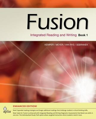 Fusion Book 1, Enhanced Edition: Integrated Reading and Writing (Paperback)