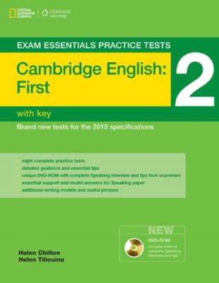 Exam Essentials: Cambridge First Practice Tests 2 w/o key + DVD-ROM