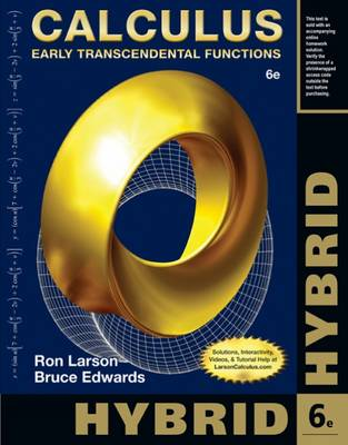 Calculus, Hybrid: Early Transcendental Functions