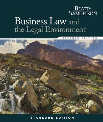 Business Law and the Legal Environment, Standard Edition (Hardback)