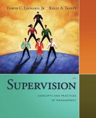 Supervision: Concepts and Practices of Management (Paperback)