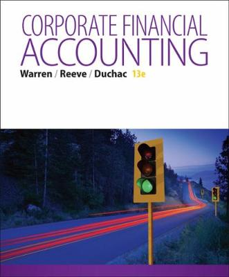 Corporate Financial Accounting: Corporate Financial Accounting Student's Book (Hardback)
