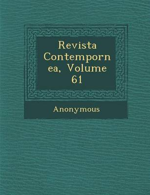Revista Contempor NEA, Volume 61 (Paperback)