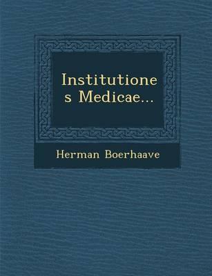 Institutiones Medicae... (Paperback)