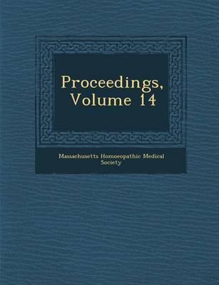 Proceedings, Volume 14 (Paperback)