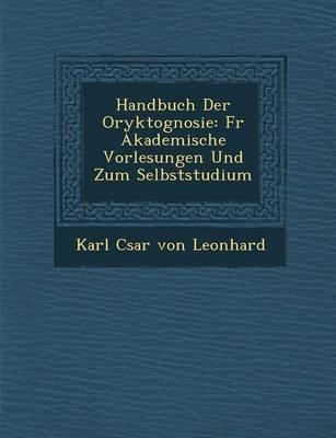 Handbuch Der Oryktognosie: Fur Akademische Vorlesungen Und Zum Selbststudium (Paperback)
