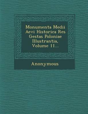 Monumenta Medii Aevi Historica Res Gestas Poloniae Illustrantia, Volume 11... (Paperback)