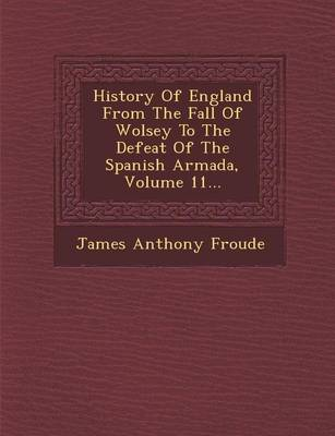 History of England from the Fall of Wolsey to the Defeat of the Spanish Armada, Volume 11... (Paperback)