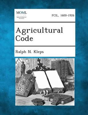 Agricultural Code (Paperback)