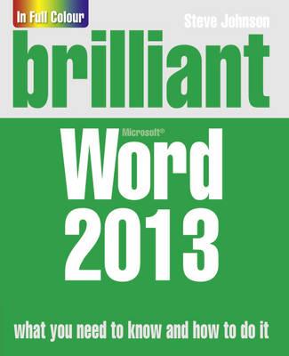 Brilliant Word 2013 - Brilliant Computing (Paperback)