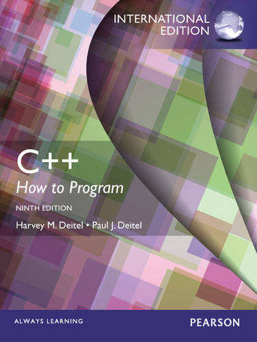C++: How to Program with MyProgrammingLab and eText: International Edition