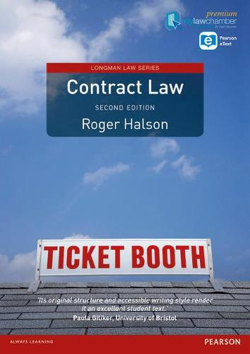 Contract Law (Longman Law Series) premium pack - Longman Law Series