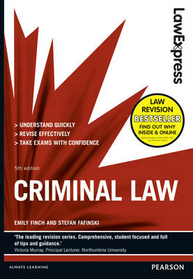 Law Express: Criminal Law (Revision Guide) - Law Express (Paperback)