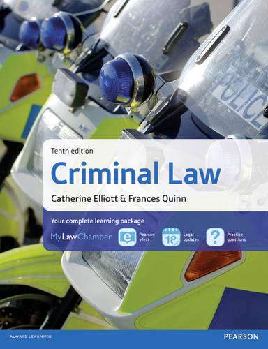 Criminal Law MyLawChamber Pack
