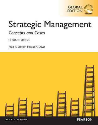 Strategic Management:Concepts and Cases, Global Edition (Paperback)