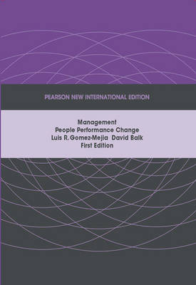 Management: Pearson New International Edition (Paperback)