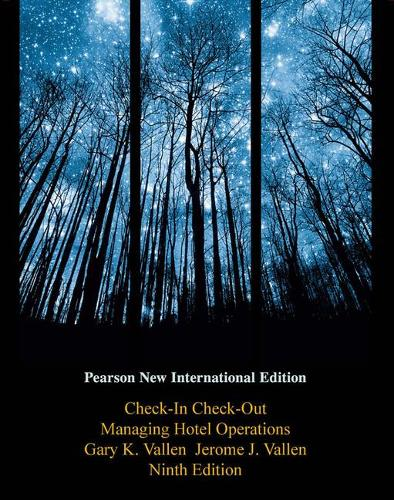 Check-in Check-Out: Pearson New International Edition: Managing Hotel Operations (Paperback)