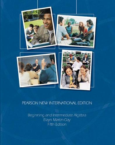 Beginning & Intermediate Algebra: Pearson New International Edition (Paperback)
