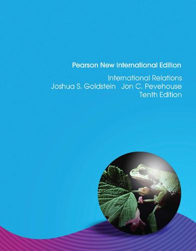 International Relations, 2012-2013 Update: Pearson New International Edition (Paperback)