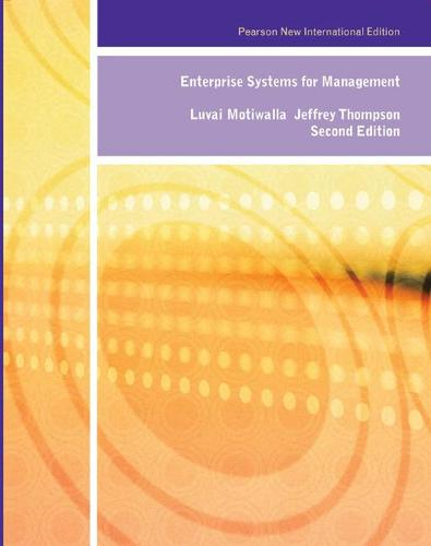 Enterprise Systems for Management: Pearson New International Edition (Paperback)