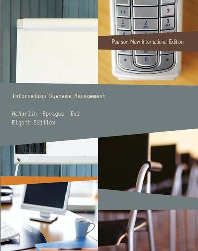 Information Systems Management: Pearson New International Edition (Paperback)
