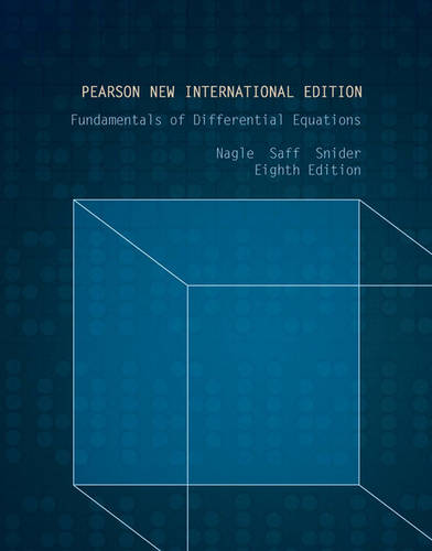 Fundamentals of Differential Equations: Pearson New International EditionEdition (Paperback)