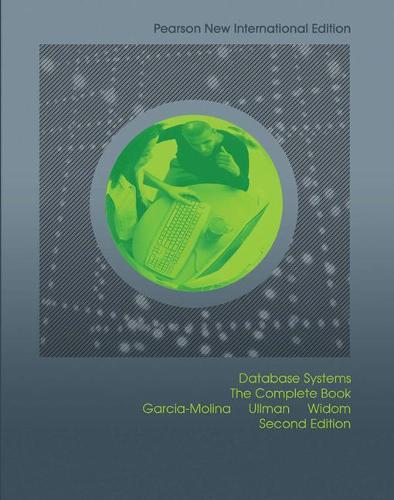 Database Systems: Pearson New International Edition: The Complete Book (Paperback)