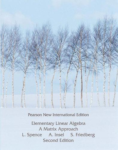 Elementary Linear Algebra: Pearson New International Edition (Paperback)