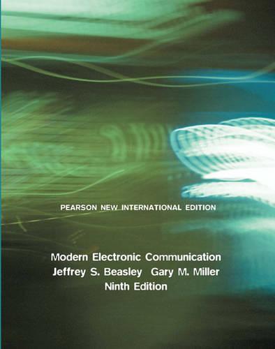 Modern Electronic Communication: Pearson New International Edition