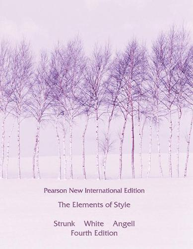 Elements of Style, The: Pearson New International Edition (Paperback)