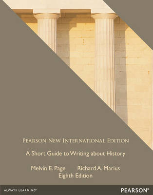 A Short Guide to Writing About History (Paperback)