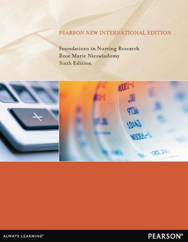 Foundations in Nursing Research: Pearson New International Edition (Paperback)
