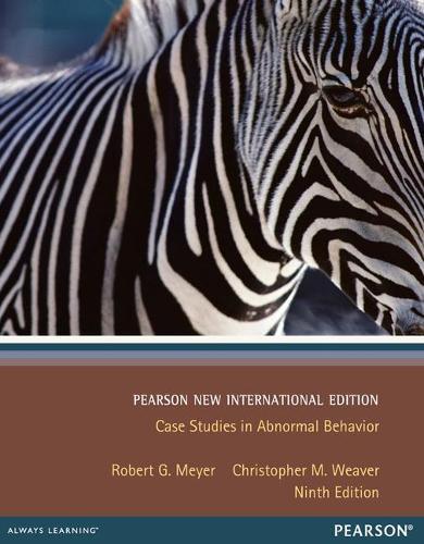 Case Studies in Abnormal Behavior: Pearson New International Edition (Paperback)