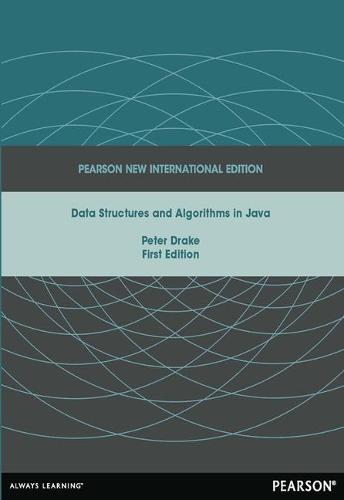 Data Structures and Algorithms in Java: Pearson New International Edition (Paperback)