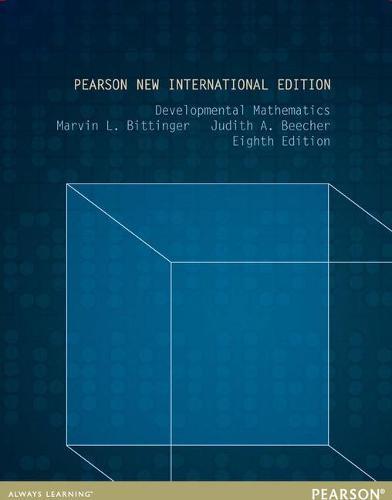 Developmental Mathematics: Pearson New International Edition (Paperback)