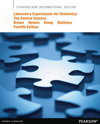 Laboratory Experiments for Chemistry: The Central Science (Paperback)