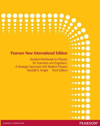 Student Workbook for Physics for Scientists and Engineers: Pearson New International Edition: A Strategic Approach with Modern Physics (Paperback)