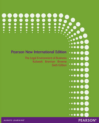 The Legal Environment of Business (Paperback)